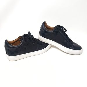 Susina | Black Lace Up Sneakers Womens 8.5